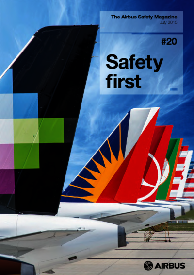 Safety first Safety first - ICAO
